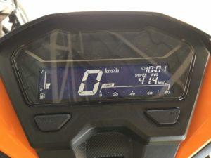 2018 Honda Click 125cc デジタルメーター