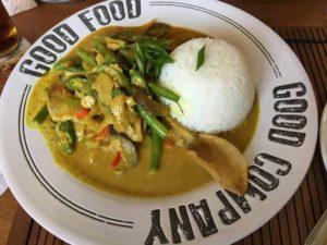 フィリピンでのアジア料理1