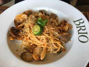 フィリピンでのイタリアン料理1