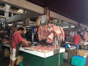 フィリピン地方都市の市場