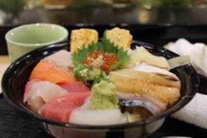 フィリピン日本食レストランの衛星面
