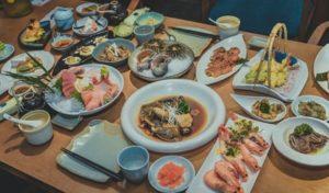アメリカ日本食レストランのメニューについて