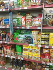 日本食コーナー